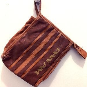 Small Vintage Pan Am Travel Bag
